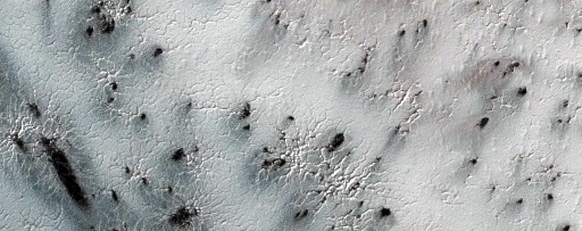 Monitoring Defrosting Patterns on Inca City Ridges