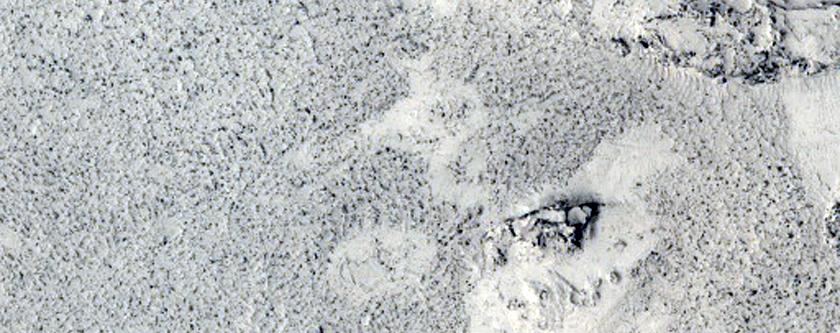 Distal End of Lethe Vallis
