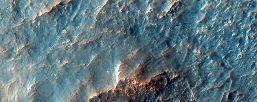 Craters in Terra Sirenum