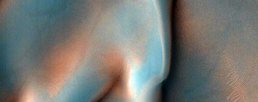 Intracrater Dune Field