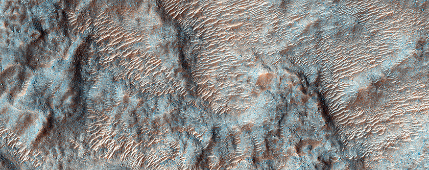 Hydrated Minerals North of Hellas Basin