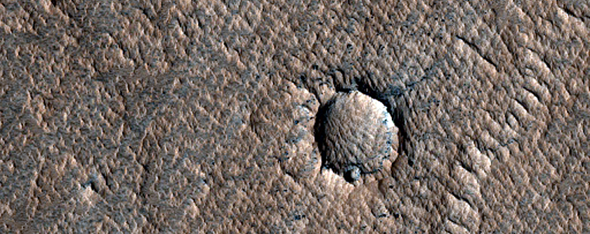 Pit South of Arsia Mons