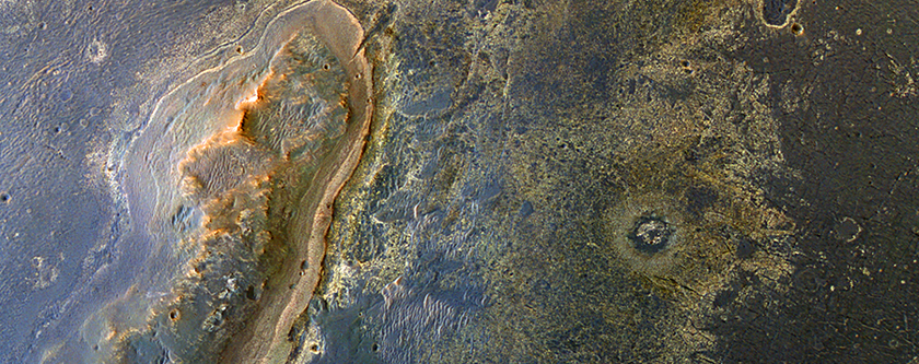 Opportunity's Goal: Northwest Endeavour Crater Rim