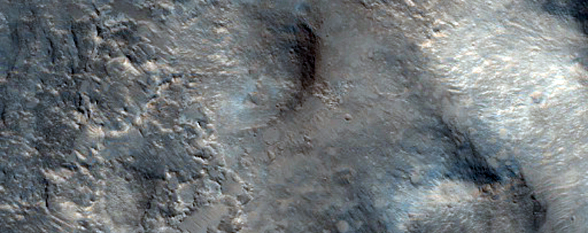 Northern Wall of Gale Crater