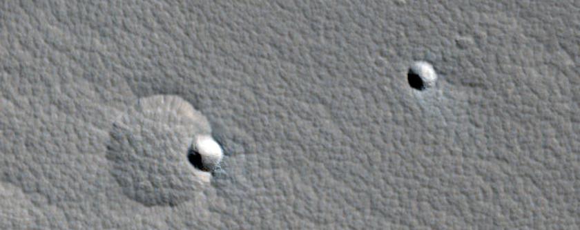 Small Shield on North Flank of Uranius Patera
