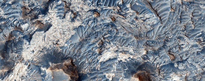 Light-Toned Units and Dunes in Meridiani Planum