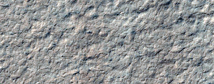 Polar Layers Exposed on Promethei Lingula Surface
