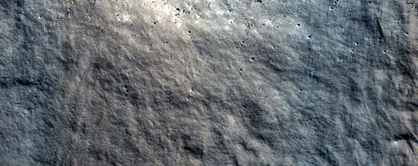 Impact Crater near Mamers Valles