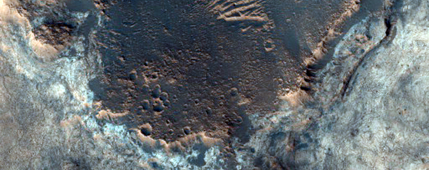 S Mawrth Vallis Landing Site 1