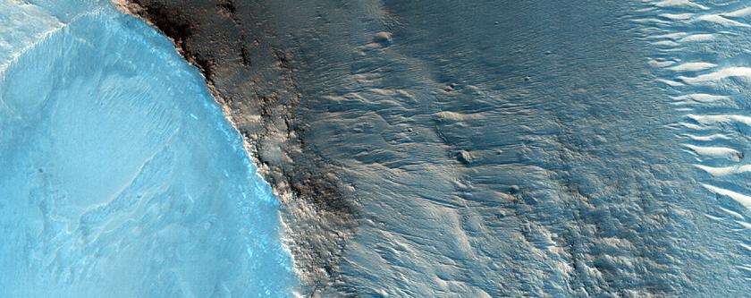 Piccoli Tumuli nella Chryse Planitia