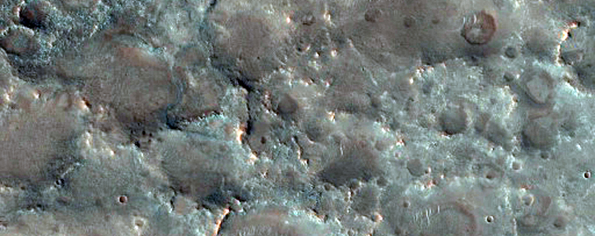 Compositionally Diverse Bedrock in Nili Fossae