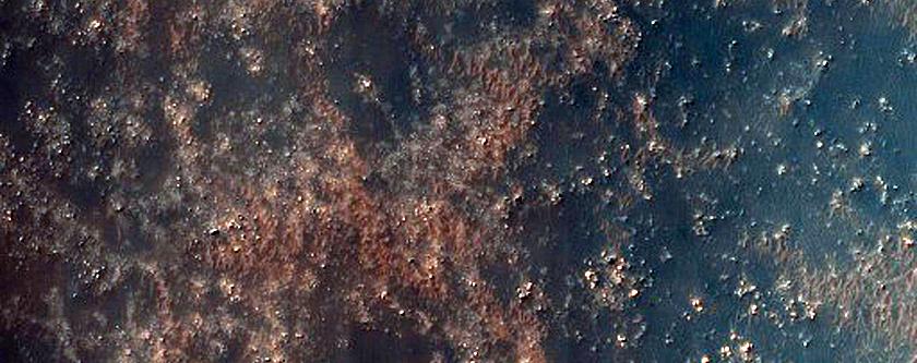 Olivine-Rich Intracrater Dunes in Terra Sirenum