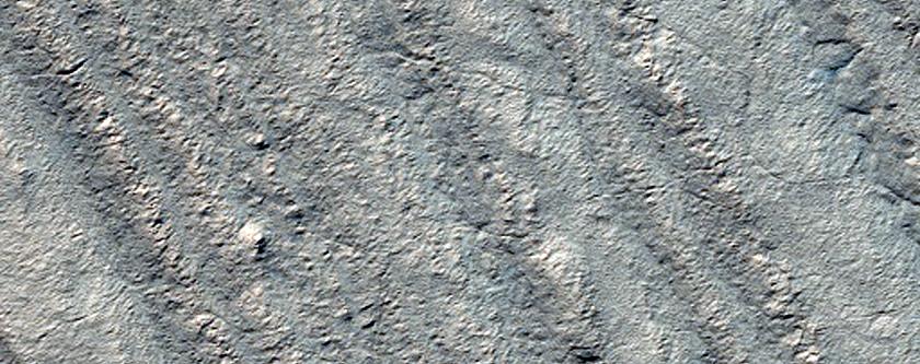 Ultimum Chasma South Polar Layers