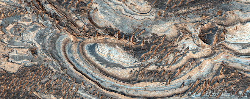 Opal Deposits near the Valles Marineris