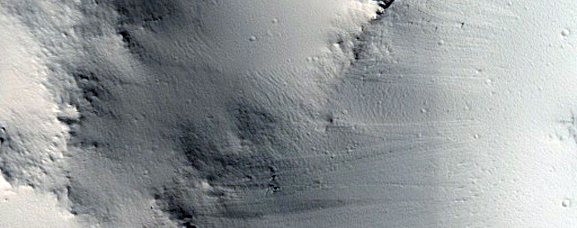 Crater in Linear Grabens