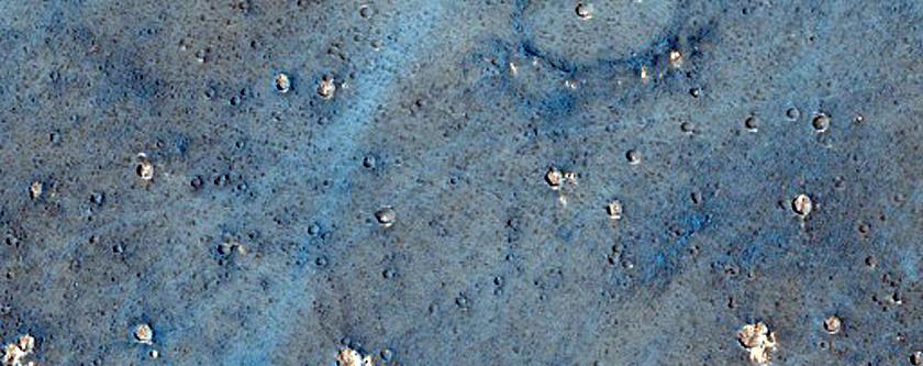 Crater with Dark Dunes