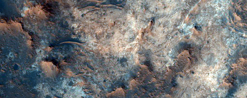 Possible Future Landing Site in Southern Mawrth Vallis