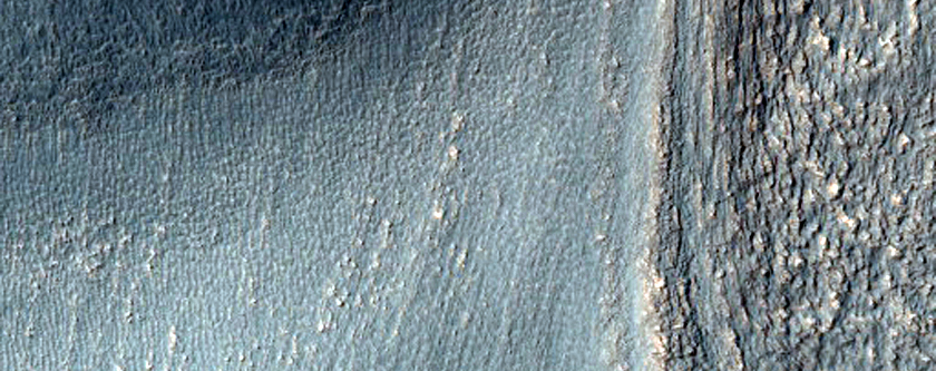 Tongue-Shaped Flow Feature in Hellas Montes Region
