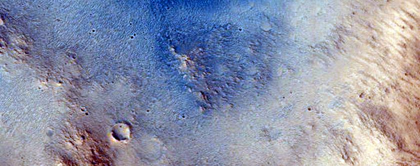 Layers in Western Arabia Terra