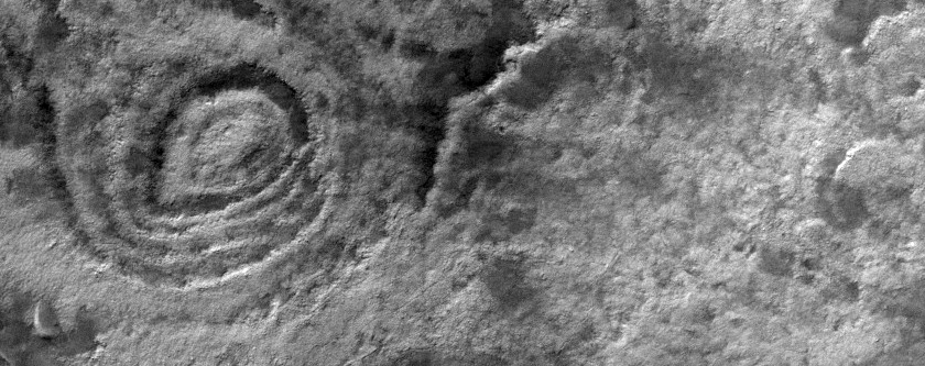 Southern Summer View of South Crater and Surrounding Terrain
