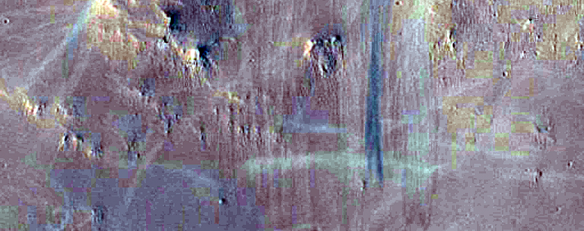 North Terraced Wall of Crater in Arabia Terra