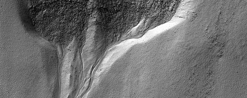 Gully and Dunes