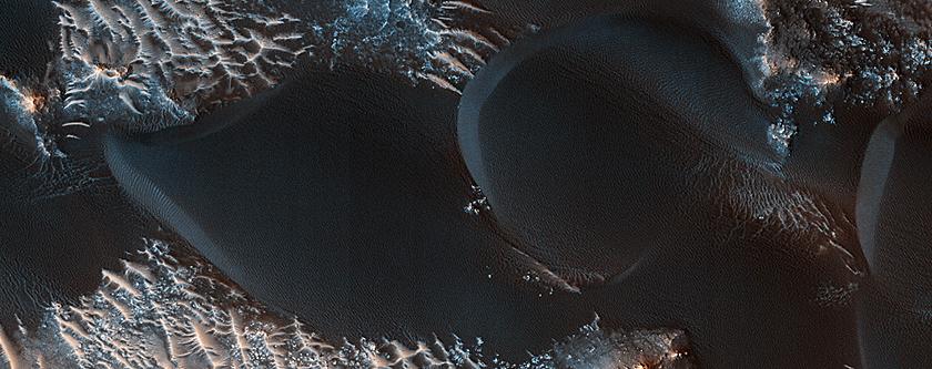 Mars Sand Dune Changes