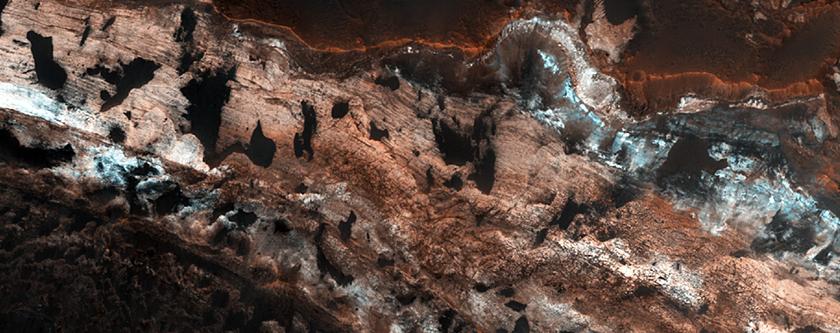 Diverse Layers and Mineralogy near Mawrth Vallis
