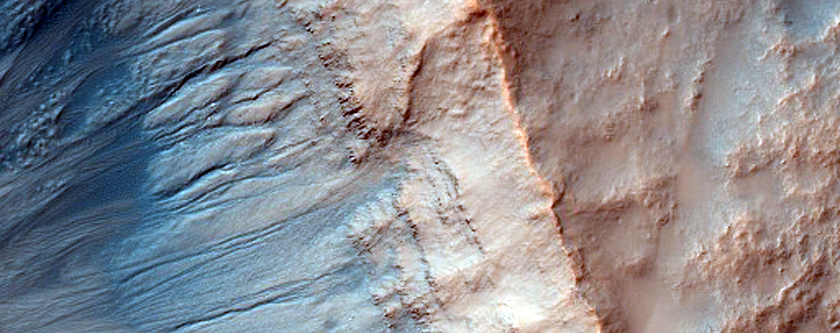 Gully as Seen in MOC Image R0801957