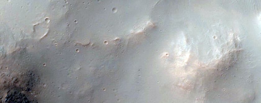 Well Preserved 7 Kilometer Impact Crater