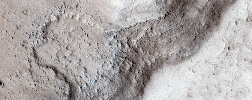 Lava Coating, Flood-Carved Kasei Valles