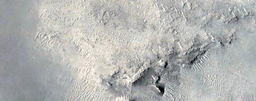 Arabia Terra Crater