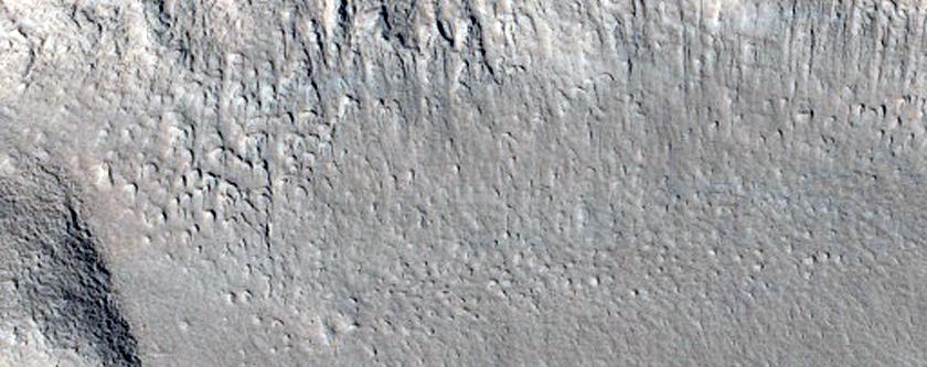 Grooved Terrain in Deuteronilus Mensae
