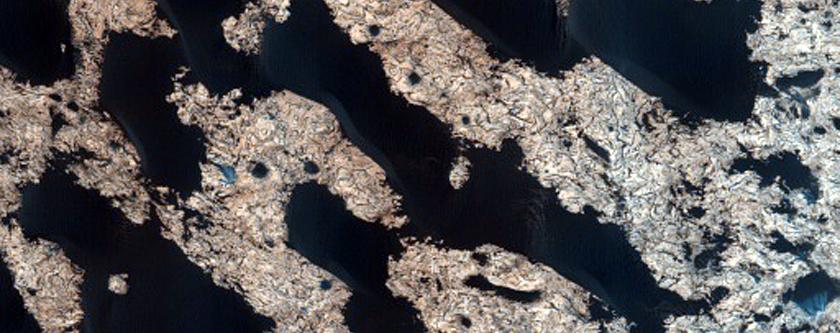 Arabia Terra Sand Dune Monitoring