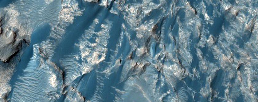 Debris Flow in Ophir Chasma