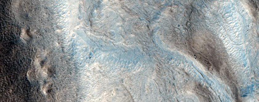 Periglacial Surface Features in Arabia Terra
