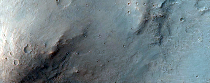 Light-Toned Materials in Complex Central Uplift of Unnamed Crater