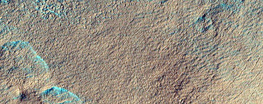 Possible MSL Rover Landing Site - Gullies/Wirtz Crater