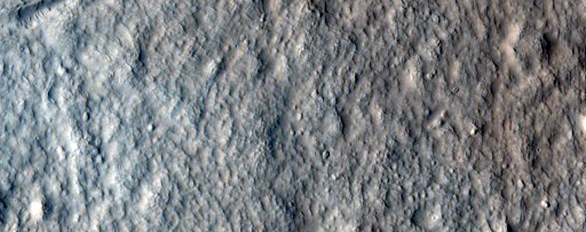 Juncture of Valleys with Lineated Fill