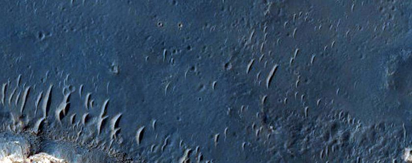 Northeast Sinus Meridiani Landforms