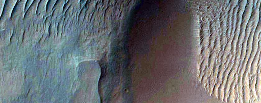 Putative Hematite Site in Capri Chasma