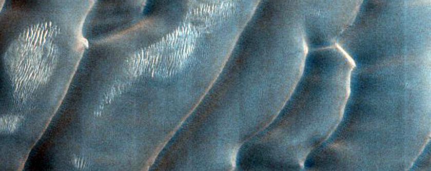Putative Gypsum Dune Source