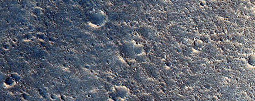 Cratered Cones Near Hephaestus Fossae