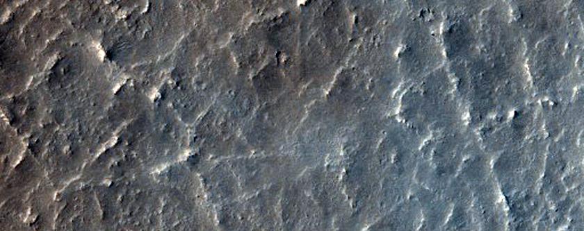 Proposed MSL Site in Becquerel Crater