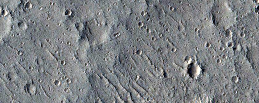 Flow Feature Near Nilus Dorsa