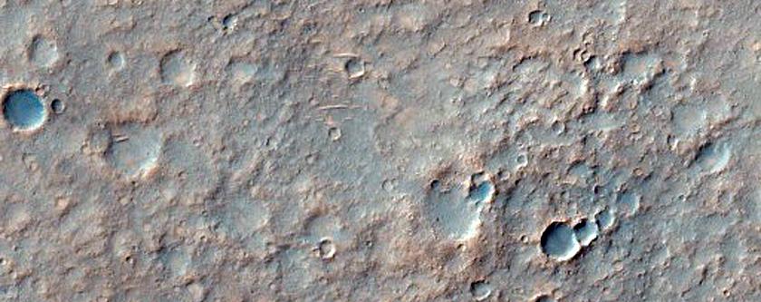Η Τοποθεσία Προσεδάφισης του Οχήματος Εξευρένησης του Άρη Spirit στον Κρατήρα Gusev