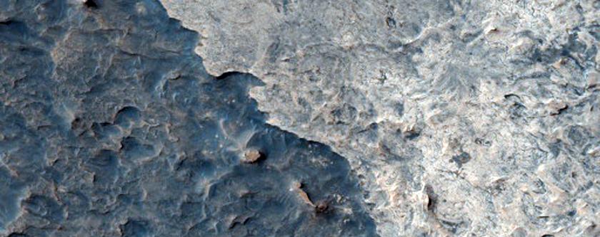 North Sinus Meridiani Landforms