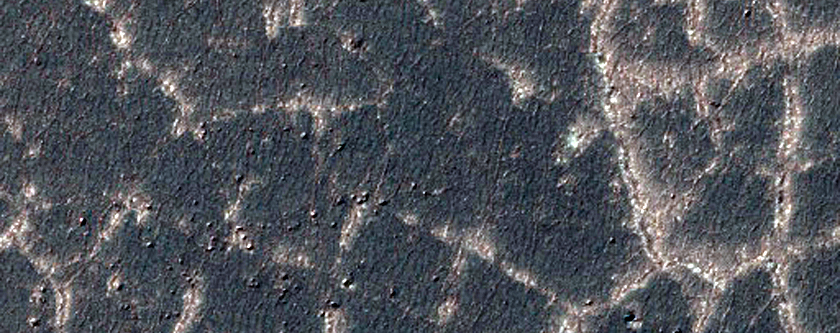 Sinuous Ridge in Argyre Region