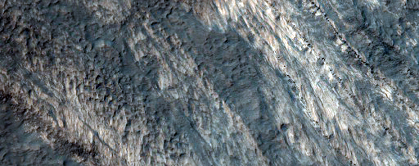 Layered Deposits in Terby Crater