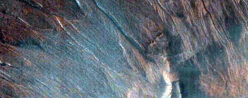 Barrancos y ... ¿Barrancos? en Terra Sirenum